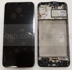 Дисплей с сенсором (экран) Samsung Galaxy M21 M215 Black, Blue, Green, GH82-22509A (сервисный оригинал), radan-osp.com - оригинальные комплектующие, фото