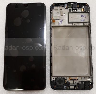 Дисплей с сенсором (экран) Samsung Galaxy M21 M215 Black, Blue, Green, GH82-22509A (сервисный оригинал)