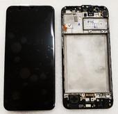 Дисплей с сенсором (экран) Samsung Galaxy M31 M315 Black, Blue, Red, GH82-22405A (сервисный оригинал)