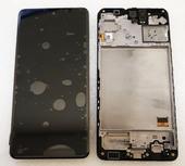 Дисплей экран Samsung Galaxy M31s M317 Black/Blue Super AMOLED, GH82-23774A (сервисный оригинал)