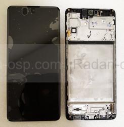 Дисплей экран Samsung Galaxy M51 M515 Black Super AMOLED Plus, GH82-23568A (сервисный оригинал), radan-osp.com - оригинальные комплектующие, фото