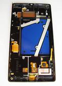 Nokia Lumia 930 Дисплей с сенсором и передней панелью, Black, 00812K9 (оригинал)