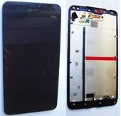 Microsoft Lumia 640 XL Дисплей с сенсором и передней панелью в сборе, 00813P1 (оригинал)