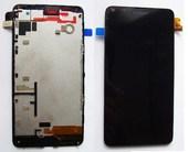 Microsoft Lumia 640 Дисплей с сенсором и передней панелью в сборе, 00813P8 (оригинал)