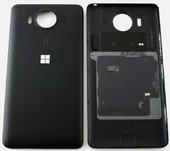 Крышка задняя Microsoft Lumia 950 (черная), 00814D9 (оригинал)