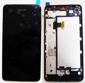 Дисплей с сенсором Microsoft Lumia 650/ Lumia 650 DS (Black), 00814H5 (оригинал)