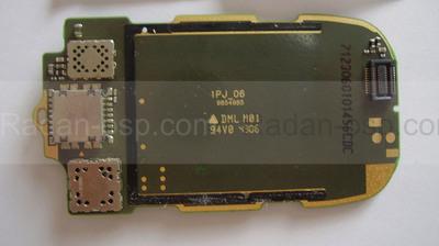 Плата под дисплей Nokia 6125, 0202654 (оригинал)