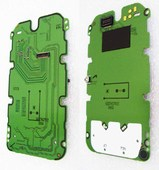 Nokia 5200 Плата дисплейная, 0203056 (оригинал)