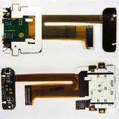 Шлейф Nokia N81 с камерой и клавиатурным модулем, 0210059 (оригинал)