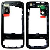 Nokia 5610xm Панель средняя (основа) черная, 0250173 (оригинал)