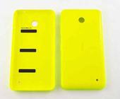 Nokia 635/ 636 Крышка задняя (желтая), 02506D0 (оригинал)
