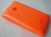 Крышка батареи Microsoft Lumia 532 (оранжевая), 02507V8 (оригинал)