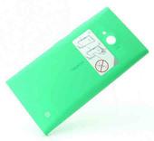 Nokia 730/ 735 Задняя панель, зеленая (с боковыми кнопками), 02507Z4 (оригинал)