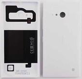Nokia Lumia 735 Задняя панель с функцией беспроводной зарядки, белая, 02507Z8 (оригинал)