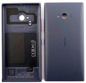 Nokia Lumia 735 Задняя панель с функцией беспроводной зарядки, серая, 02508B2 (оригинал)
