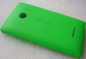 Крышка батареи Microsoft Lumia 435 (зеленая), 02508T8 (оригинал)