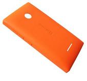 Крышка батареи Microsoft Lumia 435 (оранжевая), 02508V0 (оригинал)