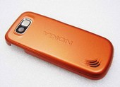 Nokia 2600с Крышка задняя оранжевая, 0250954 (оригинал)