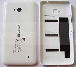 Кришка батареї Microsoft Lumia 640 (White) глянець, 02509H7 (оригінал), radan-osp.com - оригінальні комплектуючі, фото
