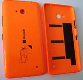 Крышка батареи Microsoft Lumia 640 (Orange) глянцевая, 02509P7 (оригинал)