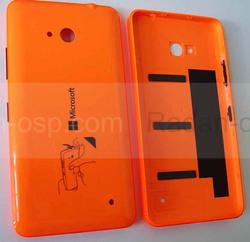 Крышка батареи Microsoft Lumia 640 (Orange) глянцевая, 02509P7 (оригинал), radan-osp.com - оригинальные комплектующие, фото