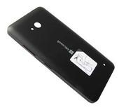 Кришка батареї Microsoft Lumia 640 (Black) матова, 02509T5 (оригінал)