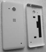 Крышка задняя Microsoft Lumia 550 (белая глянцевая), 02510N5 (оригинал)