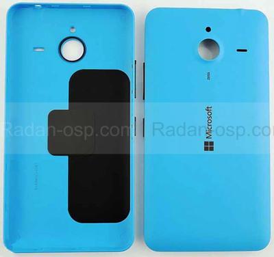 Крышка батареи Microsoft Lumia 640 XL (синяя), 02510P7 (оригинал)