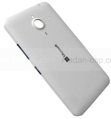 Крышка батареи Microsoft Lumia 640 XL (белая), 02510P8 (оригинал)