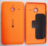 Кришка батареї Microsoft Lumia 640 XL (помаранчева), 02510P9 (оригінал)