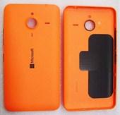 Крышка батареи Microsoft Lumia 640 XL (оранжевая), 02510P9 (оригинал)