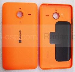 Крышка батареи Microsoft Lumia 640 XL (оранжевая), 02510P9 (оригинал), radan-osp.com - оригинальные комплектующие, фото