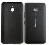 Крышка батареи Microsoft Lumia 640 XL (черная), 02510Q0 (оригинал)