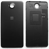 Крышка аккумулятора Microsoft Lumia 650/ Lumia 650 DS (Black-Silver), 02510Z8 (оригинал)
