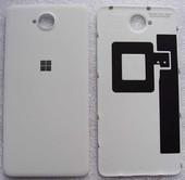 Крышка аккумулятора Microsoft Lumia 650/ Lumia 650 DS (White-Silver), 02511B1 (оригинал)