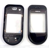 Nokia 7373 Крышка дисплейная черная, 0251476 (оригинал)