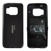 Nokia N78 Крышка задняя темно-коричневая, 0251816 (оригинал)