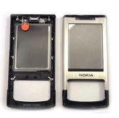 Nokia 6500s Панель передняя черная/ серебро, 0251917 (оригинал)
