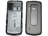 Nokia 6210 Крышка батарейная черная, 0252004 (оригинал)