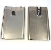Nokia E66 Крышка батарейная серая, 0252051 (оригинал)
