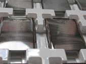Nokia E71 Крышка батарейная серо-стальной, 0252062 (оригинал)