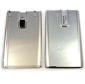 Nokia E66 Крышка батарейная белая, 0252369 (оригинал)