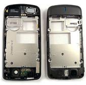 Nokia 6600s Панель средняя (основа) черная, 0252580 (оригинал)