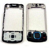 Nokia 6600s Рамка дисплея черная, 0252581 (оригинал)