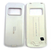 Nokia N79 Крышка батарейная белая, 0252934 (оригинал)