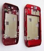 Nokia E66 Панель средняя (основа) красная, 0253055 (оригинал)