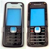 Nokia 7210 Панель передняя черно-серая, 0253278 (оригинал)