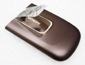 Nokia 6720с Крышка батарейная коричневая, 0253498 (оригинал)
