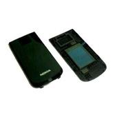 Nokia 2720f Крышка верхняя верхнего флипа черная, 0254210 (оригинал)