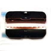 Nokia X6-00 Крышка торцевая нижняя черно-красная, 0255065 (оригинал)